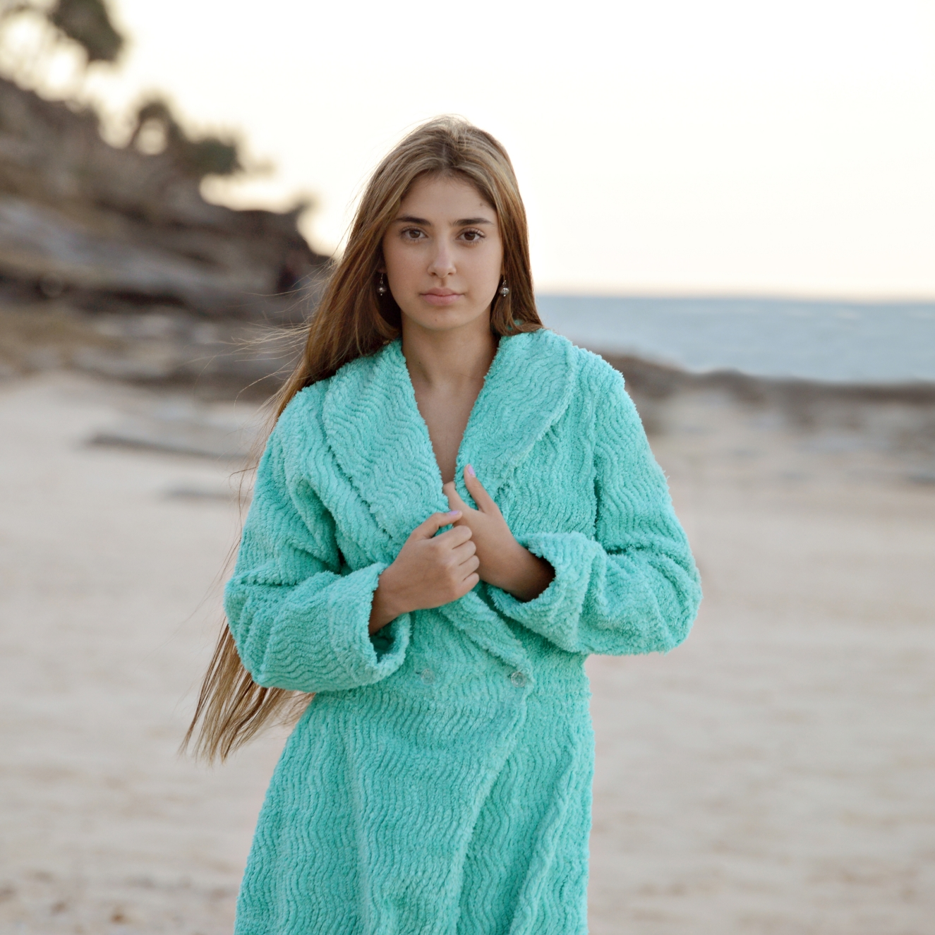 Ladies Dressing Gowns: Chenille Dressing Gown