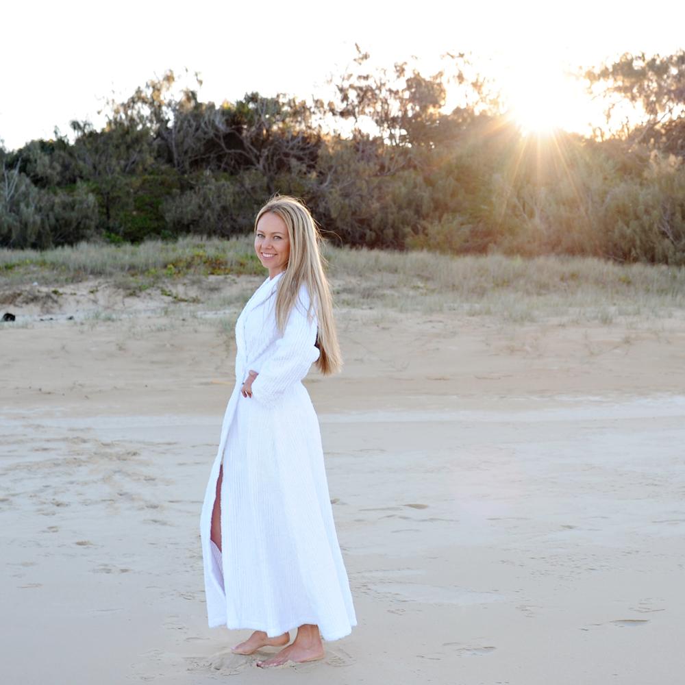 Chenille Dressing Gown - JayCeKay Australia