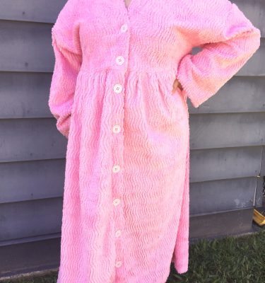 Chenille Dressing Gown